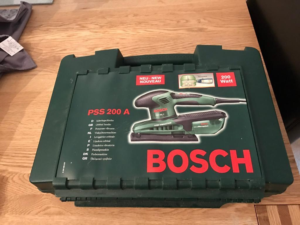 Bosch Orbital Sander 240v