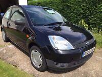 Ford Fiesta 1.3 Finesse 3 Door Black with MOT