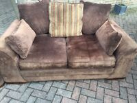 Sofa and chair for sale fantastic condition