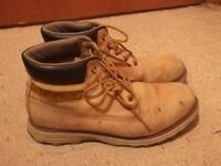 Caterpillar Founder Nubuck Chukka Boots Size 10