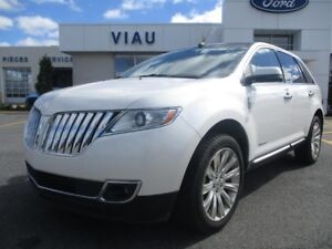 2013 Lincoln MKX LIMITED AWD*TOIT PANO*CUIR*GPS*GARANTIE 6M/10KM