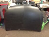 Corsa c matt black bonnet