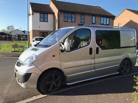 Vivaro,Factory fitted crew cab, low miles, full service history, great condition