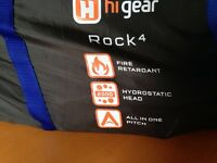 Hi Gear Rock 4 Tent in Immaculate Condition