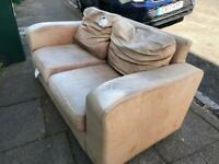 2 seater sofa. Free to collector