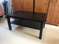 Black coffee table - IKEA - £5