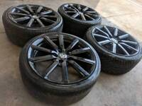 """18"""" Genuine Vauxhall Corsa Limited Edition Alloy Wheels & Tyres 5x110 PCD"""