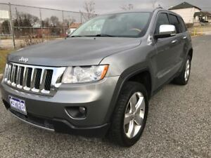 2013 Jeep Grand Cherokee Overland|Nav|Panoroof|Heated &Cooled Se