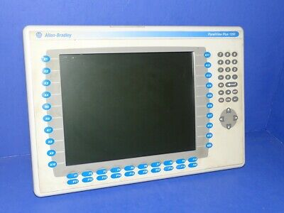 Allen Bradley Panelview Plus 1250 2711p-rdk12c Series A Display Only Unit 2