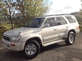 TOYOTA HILUX SURF 3.0 SSR-G LIMITED EDITION AUTO 4X4 SILVER