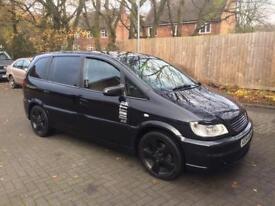 Vauxhall zafira 2ltr tdi 7 seater