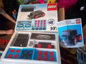 vintage lego set 107