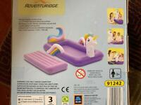 Unicorn air bed new boxed unopened