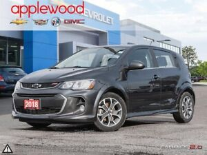 2018 Chevrolet Sonic LT Auto RS, SUNROOF, HEATED SEATS, AVAIL...