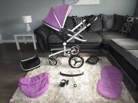SILVER CROSS SURF 2 PUSHCHAIR LILAC