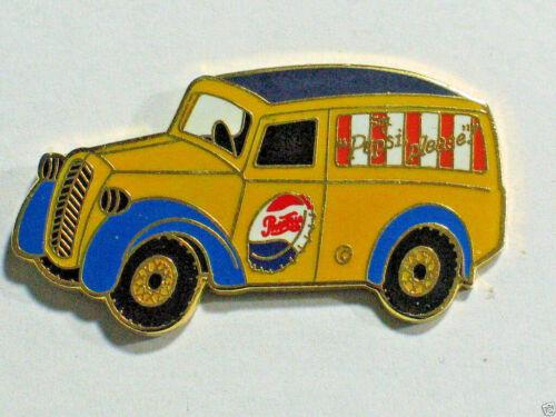 "Pepsi  Truck Pin _ Vintage Pepsi Panel Truck Advertizing Pin Badge (lg 1 1/2""sz)"