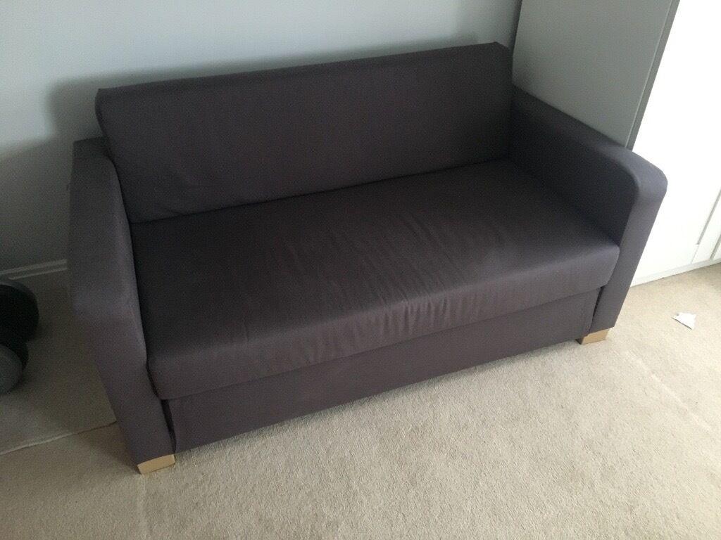 Sofa Bed Grey Simple Slimline