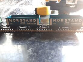 Selection of x 4 Hornby open top wagons