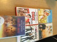 Bundle of 5 DVDs on offer