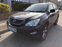 Lexus RX300 SE-L 2995cc Petrol Automatic 4x4 Estate 53 Plate 14/02/2004 Black