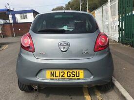 2012 (12 reg) Ford KA 1.3 TDCi Zetec 3dr (start/stop) £20 Tax Turbo Diesel