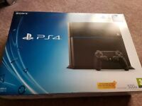 Playstation 4 PS4 500GB Black Console With Camo Controller
