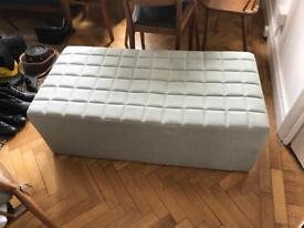 Lounge seat and double fold up mattess