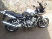 Yamaha Fazer 1000. Very reliable commuter or extremely quick fun bike.
