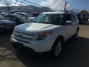 2015 Ford Explorer Limited, SUNROOF, NAVIGATION, 2ND ROW BUCKET
