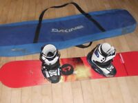 Complete snowboard outfit with Burton boots/bindings