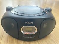 Philips radio and CD player