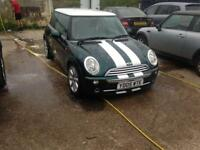 2005 facelift Mini Cooper 1.6 petrol px welcome Cooper s alloys