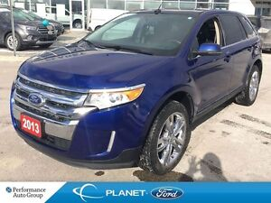 2013 Ford Edge Limited MOONROOF LEATHER NAVIGATION AWD