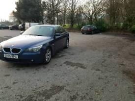 BMW 5 series E60, 12 month MOT, 2005, 6 speed manual, 2.5 petrol