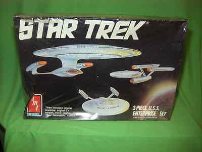 Amt 6518 Star Trek 3 Piece U.S.S. Enterprise Set Sealed