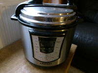CROFTON ELECTRIC PRESHER COOKER NEW