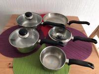 5 Pcs pots Set, Induction