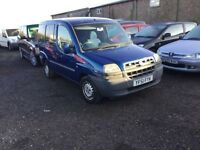 Diesel fiat doblo people carrier in vgcondition lovely driver can be used as a car or van diesel mpv