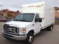 2013 Ford E-350 16  CUBE VAN | FINANCE AND LEASE OPTS AVAIL!