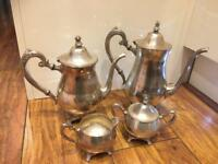 Oneida Silver plated tea set