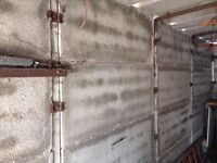 Concrete garage - 16ft x 8ft approx for sale.