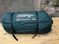 Vango TBS Equinox 450 5-person tent in excellent condition