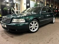 2001 Audi A8 2.8 Sport Auto Facelift Model Beautiful Example SunRoof 145K Full Service History