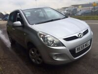 HYUNDAI i20 1.4 COMFORT 2009 (59) AUTOMATIC PETROL 5 DOOR FULL SERVICE HISTORY 9 STAMPS IN BOOK
