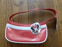Minnie Mouse Red polka dot bag from Disney brand new