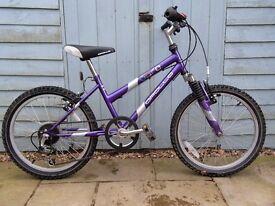 Girls Apollo Mountain Bike - Good Condition