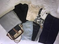 Zara/Warehouse/French connection/M&S womens clothes/accessories bundle. Size 10/Med Almost new!