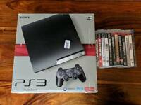 PS3 250gb, 4 Controllers & 11 Games Bundle