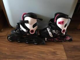 Oxelo roller blades and accessories