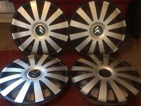 Citroen wheel trims 14 inch